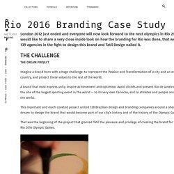 Rio 2016 Branding Case Study