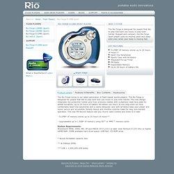 Rio Audio : Rio Forge 512MB Sport