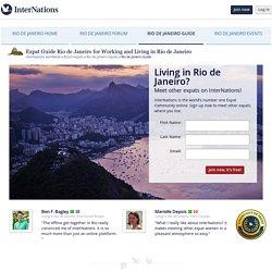 Rio de Janeiro expat Guide for living in Rio de Janeiro