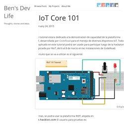 RIoT Core 101
