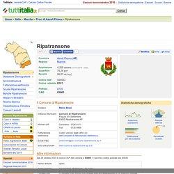 Comune di Ripatransone (AP) - CAP e Informazioni utili
