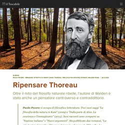 Ripensare Thoreau