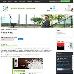 Riposte Verte - Association pour un environnement tertiaire responsable - Bilans DD/RSE, Carbone, Environnemental & Formation