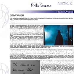Ripper magic