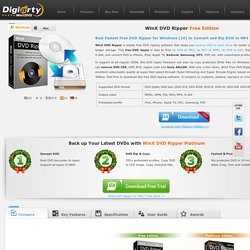 Free DVD Ripper - Rip DVD to AVI Freeware - Free DVD Ripping Software