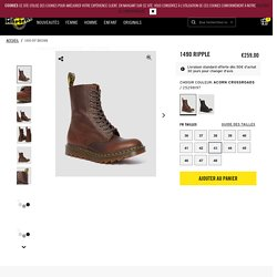 The Official FR Dr Martens Store