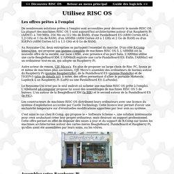 RISC OS FR - Utilisez RISC OS