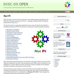 RISC OS Open: Nut Pi