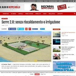 Serre 2.0: senza riscaldamento o irrigazione
