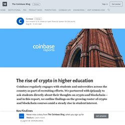 The rise of crypto in higher education