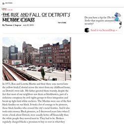 The Rise and Fall of Detroit's Middle Class