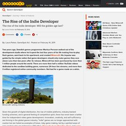 The Rise of the Indie Developer - GameSpot