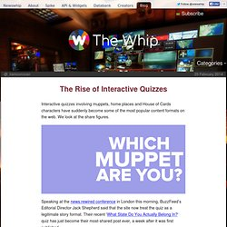 The Rise of Interactive Quizzes