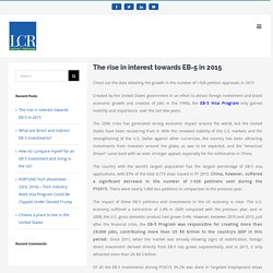The rise in interest towards EB-5 in 2015 - LCR Capital