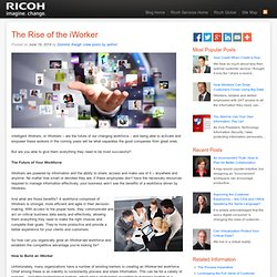 The Rise of the iWorker - Ricoh Services