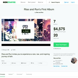 Rise and Run's First Album by Rise and Run