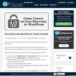 Area Riservata WordPress: Come crearla! « WP Vincente