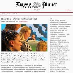 Risiko Pille - Interview mit Christin Berndt