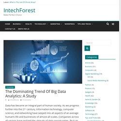 A Look Into The Rising Phenomenon Of Big Data Analytics