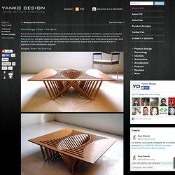 Rising Table by Robert Van Embricqs