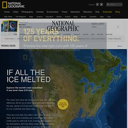 Rising Seas - Interactive: If All The Ice Melted