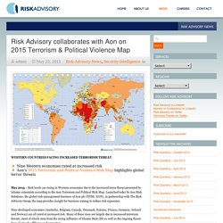 RiskAdvisory – Risk Advisory collaborates with Aon on 2015 Terrorism & Political Violence Map