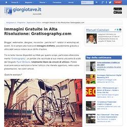 Immagini Gratuite in Alta Risoluzione: Gratisography.com - Programmi GT