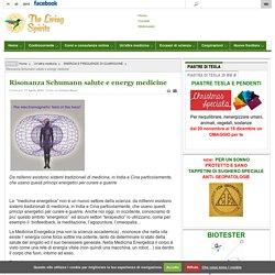 Risonanza Schumann salute e energy medicine