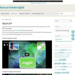 App per prof – Risorse per l'animatore digitale