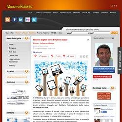Risorse digitali per il BYOD in classe
