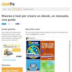 Risorse gratuite per creare il tuo ebook