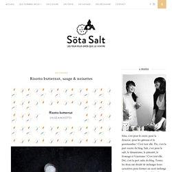 Risotto butternut, sauge & noisettes – Söta Salt