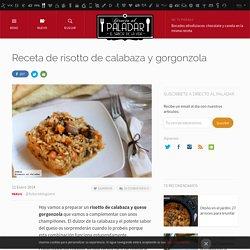 Receta de risotto de calabaza y gorgonzola