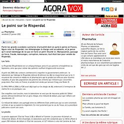 Le point sur le Risperdal