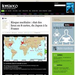 Risque nucléaire : état des lieux en 8 cartes, du Japon à la France