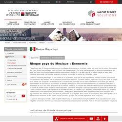 Risque pays du Mexique : Economie