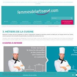 Risques professionnels des Métiers de Bouche et de Cuisine