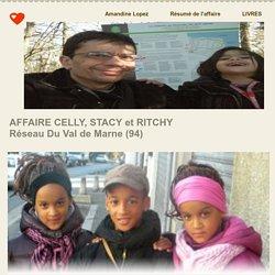 Celly, Stacy et Ritchy victime du réseau pédophile du Val de Marne