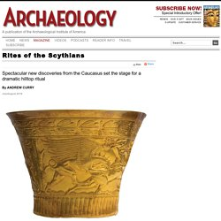Rites of the Scythians