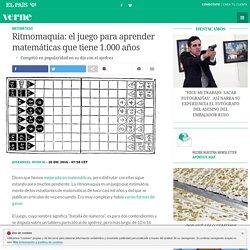 Ritmomaquia: el juego para aprender matemáticas que tiene 1.000 años