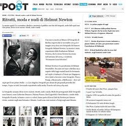 Ritratti, moda e nudi di Helmut Newton