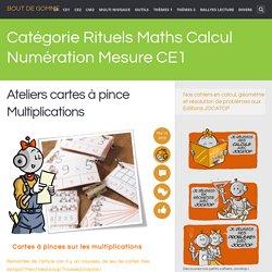 Rituels Maths Calcul Numération Mesure CE1