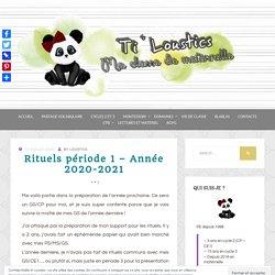 Rituels période 1 - Année 2020-2021 - Ti'loustics Mobiliser le langage