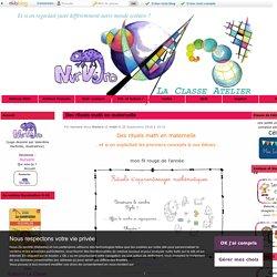 Des rituels math en maternelle - La Classe Atelier