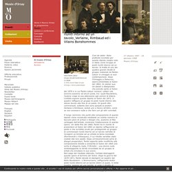 Fantin-Latour: Gruppo di poeti riuniti intorno ad un tavolo_Verlaine, Rimbaud ed i Vilains Bonshommes