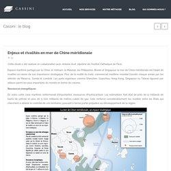 Enjeux et rivalités en mer de Chine méridionale