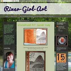 River-Girl-Art: International Art Journal Swap