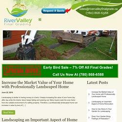 Landscaping Service In Edmonton