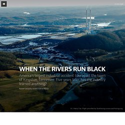 WHEN THE RIVERS RUN BLACK — Beautiful Stories