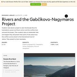 Rivers and the Gabčíkovo-Nagymaros Project
